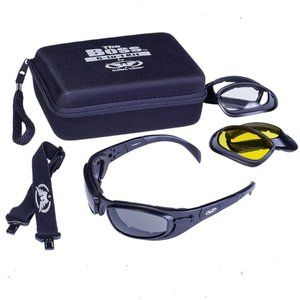 Motorcycle Sunglasses with 3 Sets Lenses Occasion